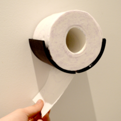 plan 3d gratuit Toilet Paper dispenser, leFabShop