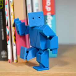 Download free 3D printing models Action Robot, leFabShop
