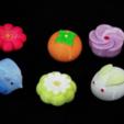 Download free STL file Japaness Dessert - Rose • 3D printer model, 3DP_PARK