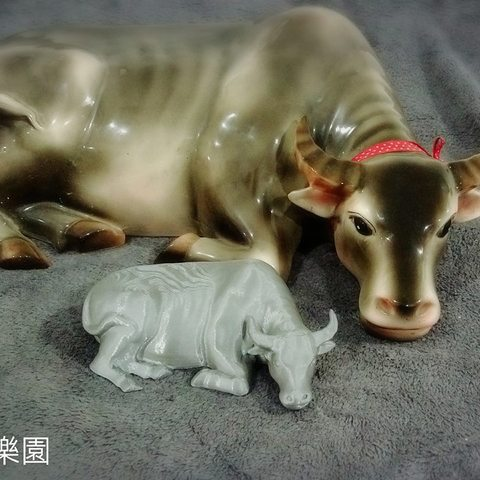 Download free STL file Taiwan Water buffalo (3D scan)台灣水牛 • 3D printer template, 3DP_PARK