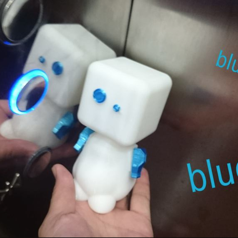 Download free STL file 3D robot • 3D printer model, 3DP_PARK