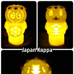 Capture d'écran 2017-03-16 à 10.43.55.png Download free STL file Japan Kappa lamp • 3D printable template, 3DP_PARK