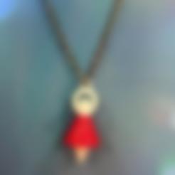 Download free STL file Ballet girl (necklace) • 3D printable template, 3DP_PARK