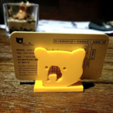 Download free STL file Bear Card Holders • 3D printer model, 3DP_PARK