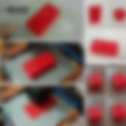STL gratis Kobayashi Fidget Cube - con la palabra china suerte, 3DP_PARK