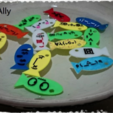 Download free 3D model Fish (smilies word) - Float, 3DP_PARK