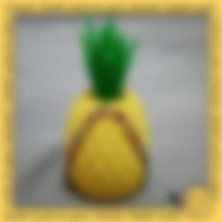 Download free STL file Pineapple toothpick tank • 3D printer model, 3DP_PARK