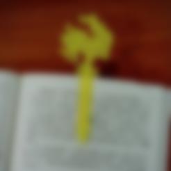 Download free STL file Bookmark - 2017 Rooster • 3D print object, 3DP_PARK