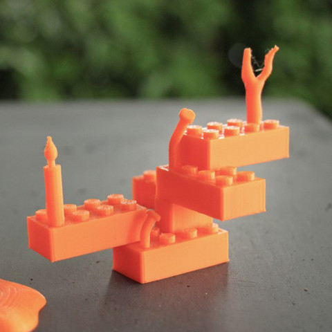 Free 3D printer designs Lego Reloaded, gregoware