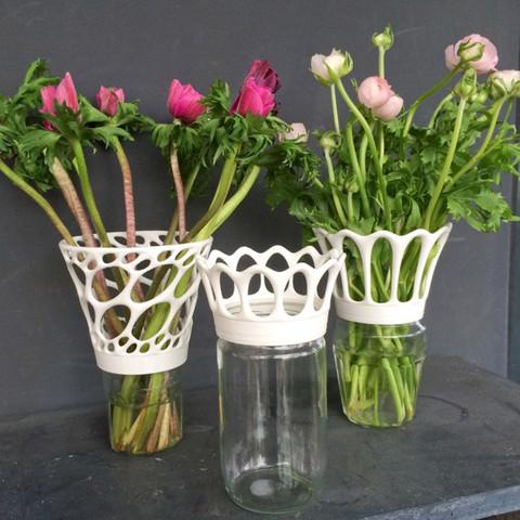 3.jpg Télécharger fichier STL Vase à visser sur des bocaux de confiture • Objet imprimable en 3D, gregoware