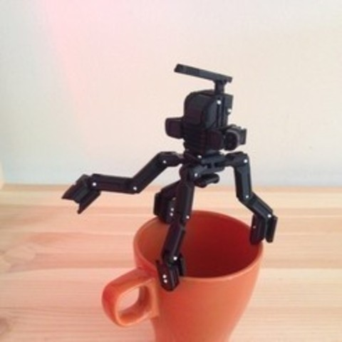 Free 3D printer model MiniMech, kevinkevin