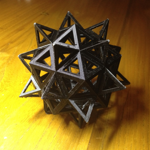 Download free STL files Polyhedron by Leonardo da Vinci, Roger