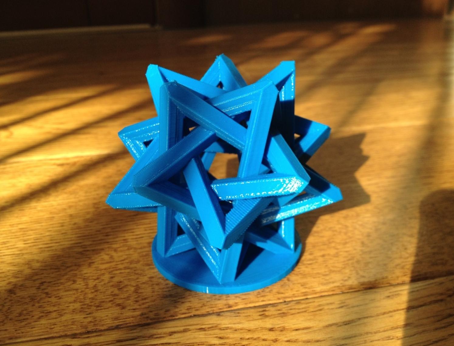 Capture d'écran 2017-03-22 à 16.12.44.png Download free STL file Interlocking Tetrahedra • 3D printing object, Roger