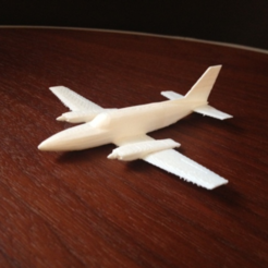 Download free 3D printer designs Model plane, Roger