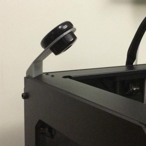 Télécharger fichier imprimante 3D Dropcam Replicator 2 Corner Mount, Roger