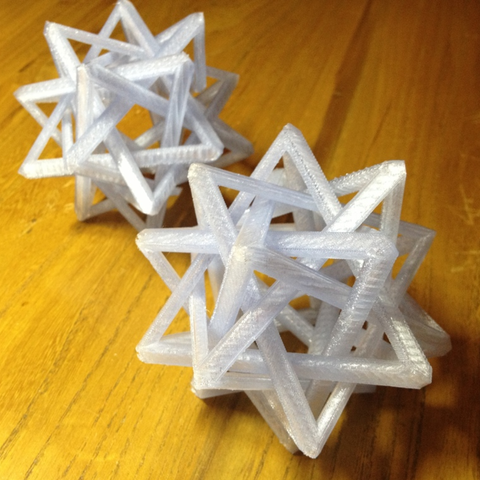 Download free 3D printer templates Interlocking Tetrahedra (Variation), Roger