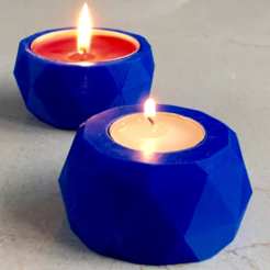 3d model Reversible Candle Holder, Roger