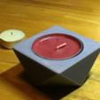 Télécharger fichier 3D Reversible Candle Holder (Square), Roger