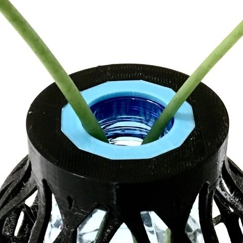 FullSizeRender 9.jpg Download STL file PET Bottle Vase • Template to 3D print, Roger