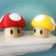 Download free 3D printing models Desk Shrooms, Djiss