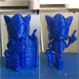Download free STL file Sonic the Hedgehog! (with Logo) • 3D printer template, Djiss