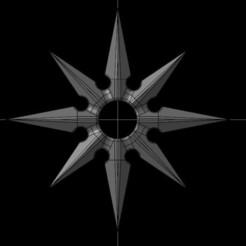 Descargar diseños 3D gratis Shuriken, gis38