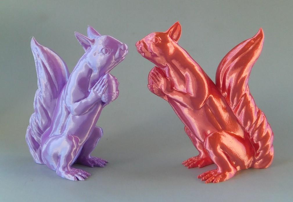squizzles_1.jpg Download free STL file Squizzle! A No supports Squirrel Sculpt • 3D print model, loubie