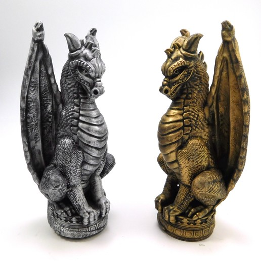 Descargar modelo 3D Ajedrez Dragón! Dragon Overlord (El Rey), loubie