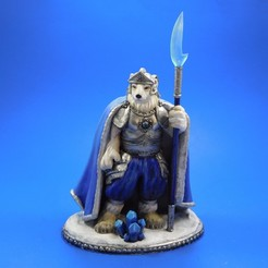 armel_main.jpg Download free STL file Armel the Polar Paladin • 3D printer model, loubie