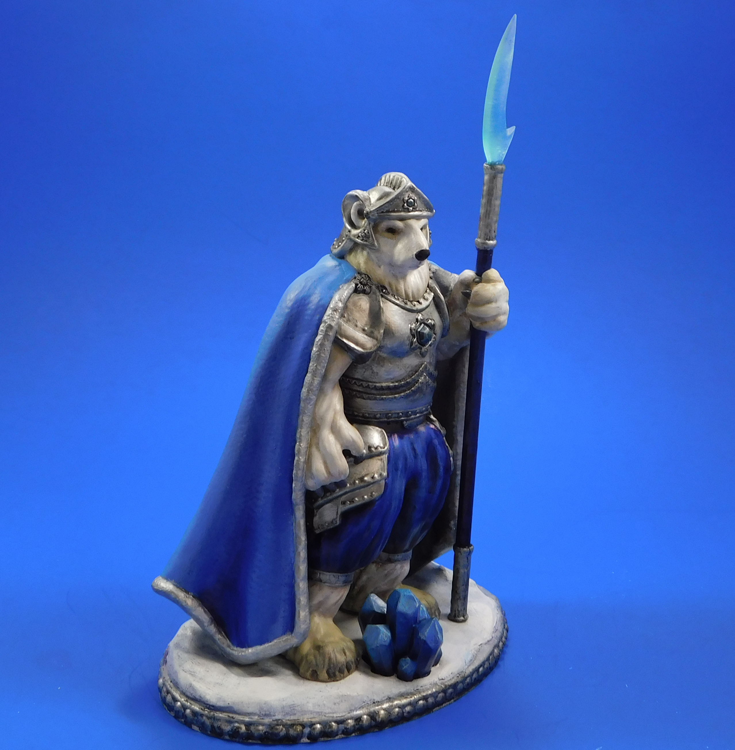armel_side.jpg Download free STL file Armel the Polar Paladin • 3D printer model, loubie