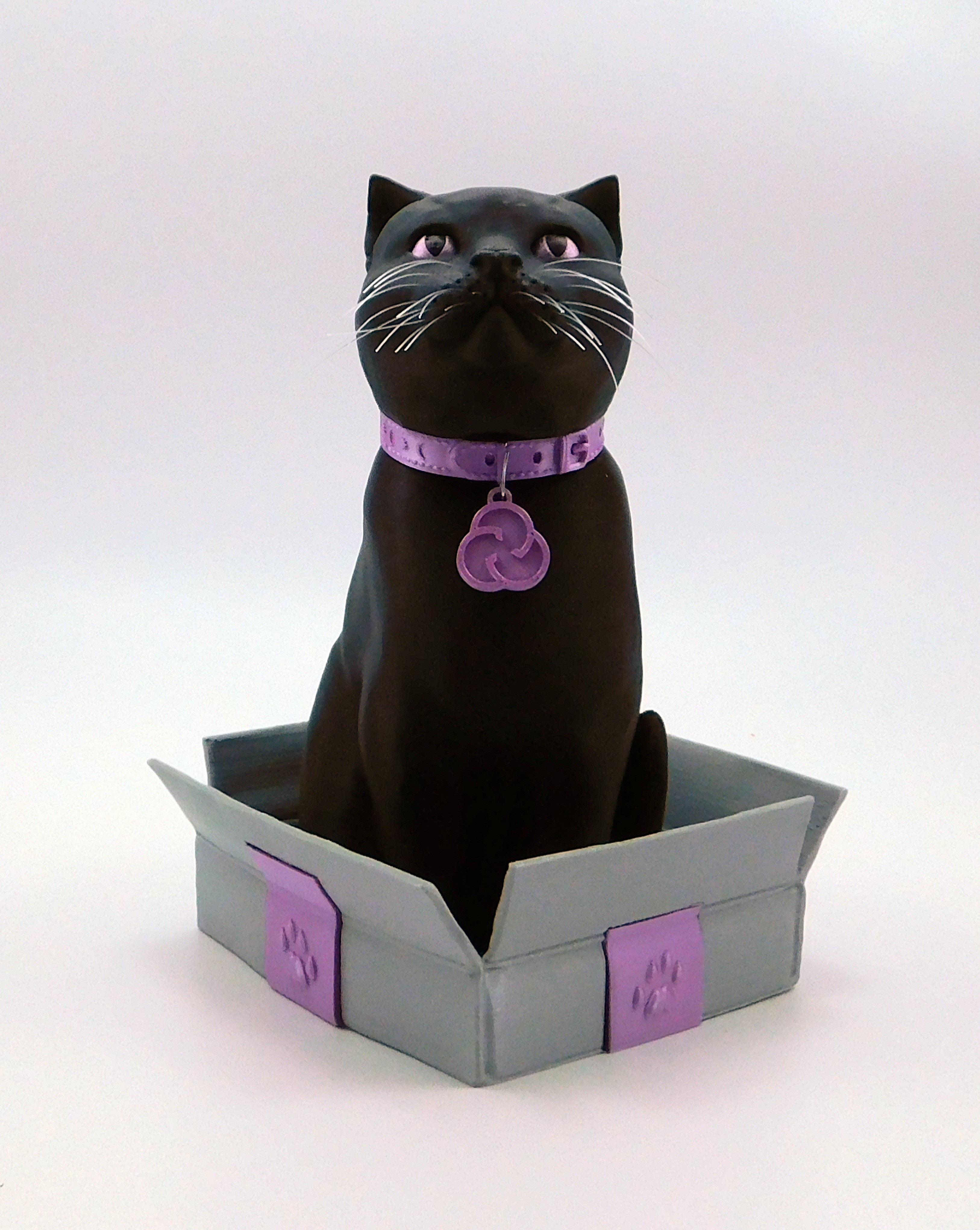 cults3d_cats3.jpg Download free STL file Schrodinky! Cults cat collar medals!! • 3D printable model, loubie