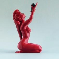 the-sorceress-3D-printer-loubie-3D-model5.jpg Télécharger fichier STL La sorcière • Objet à imprimer en 3D, loubie