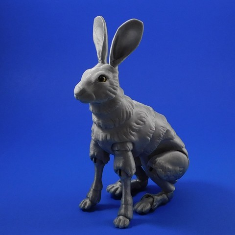 Download free 3D printing files The Fabled Hare (A 3D Printed Ball-jointed Doll), loubie