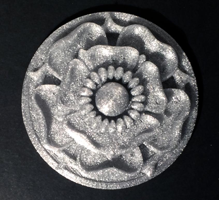 Capture d'écran 2017-03-07 à 09.52.59.png Download free STL file Tudor Rose Testing Piece and Pendant • 3D printer object, loubie