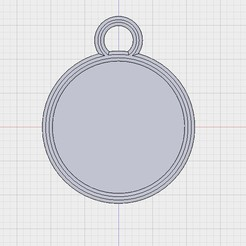 Free 3D printer designs Schrodinky! Blank cat collar medal, loubie