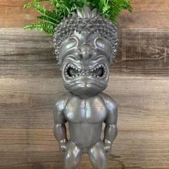 115825415_920620661746135_7940769582992235878_n.jpg Download free STL file Hawaiian God: Ku • 3D printable object, loubie