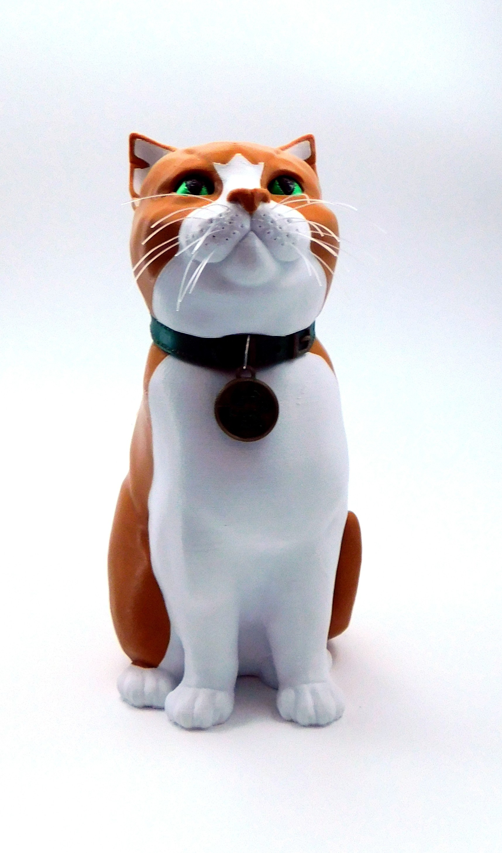 ginger_cat.jpg Download STL file Schrodinky: British Shorthair Cat in a Box – 3D Printable, Multi Part Model - MULTI EXTRUSION PACKAGE • Object to 3D print, loubie