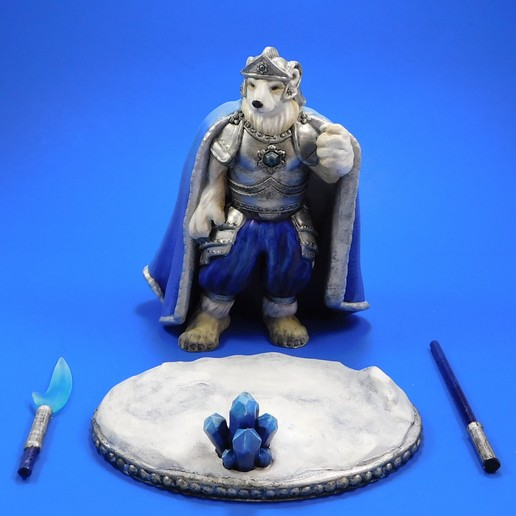 armel_parts.jpg Download free STL file Armel the Polar Paladin • 3D printer model, loubie