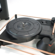 Free 3D file Atom Spinbox - A 3D DIY Portable Turntable Kit, ATOM3dp