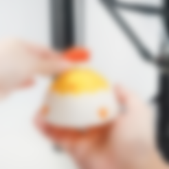 Free 3D printer file Taipei Lantern Festival Chick & Beimen, ATOM3dp