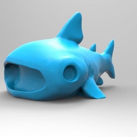 Télécharger fichier imprimante 3D gratuit Requin-baleine mignon, thePixelsChips