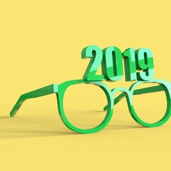 Download free 3D print files 2019 Glasses, thePixelsChips