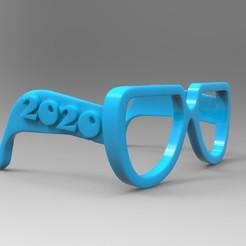 untitled.269.jpg Download free OBJ file 2020 glasses for kids • 3D print model, thePixelsChips