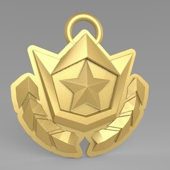 Download STL file Season Pass badge necklace, thePixelsChips