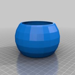 Download free 3D model My Customized parametric spheroid pot, maverickf