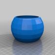 spheroid_pot_20150321-19302-v0nfqp-0.png Télécharger fichier STL gratuit Mon pot sphéroïde paramétrique personnalisé • Modèle pour imprimante 3D, maverickf
