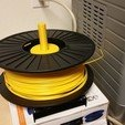 Télécharger plan imprimante 3D gatuit Rouleau de filament universel à disque dur, maverickf