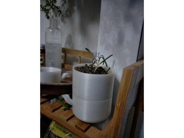 addde19fed6268e88a5508607964fdec_preview_featured.jpg Download STL file Hydroponic Pot • Template to 3D print, Eve