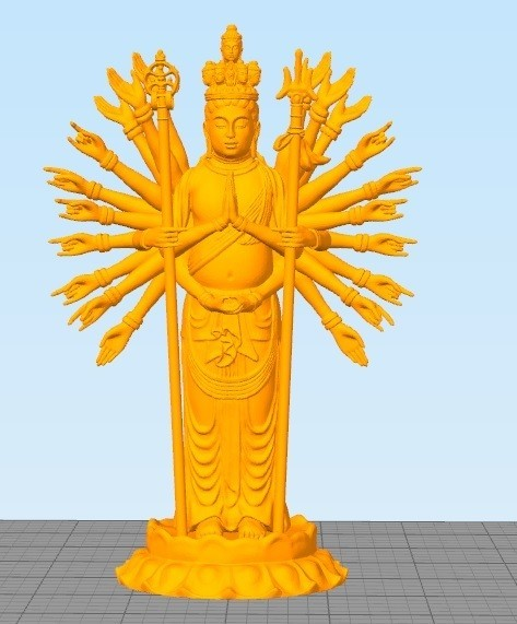 Goddess of mecry.jpg Download STL file goddess of mercy • 3D printer design, Eve
