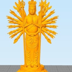 Goddess of mecry.jpg Download STL file goddess of mercy • 3D printer design, Eve